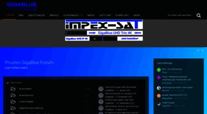 gigablue-support.org - privates gigablue forum