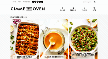 gimmesomeoven.com - gimme some oven  celebrating delicious and easy recipes