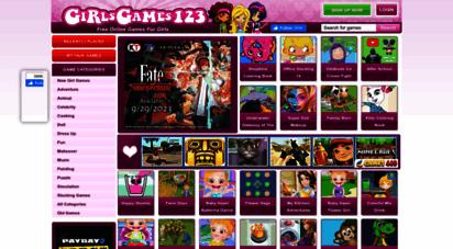 girlsgames123.com