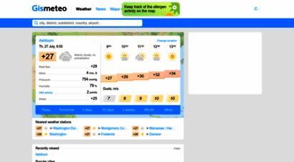 gismeteo.com - gismeteo: weather forecast