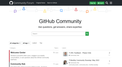 github.community - github support community