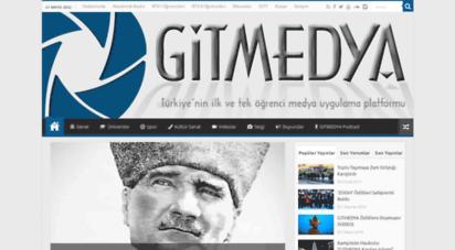 gitmedya.com - gitmedya türkiye´nin ilk ve tek öğrenci odaklı medya sitesi