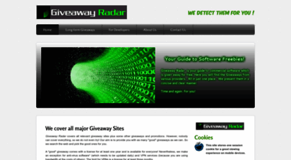 giveawayradar.weebly.com - your guide to software freebies!