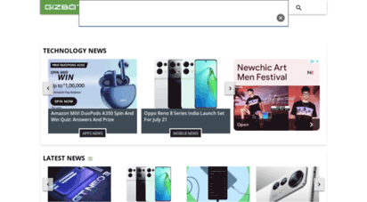 gizbot.com - technology news, smartphone news & reviews, gadget launches, laptops, mobile prices, how-to, live s - gizbot