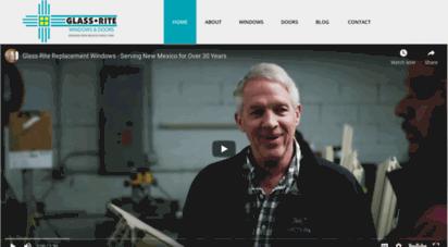glass-rite.com - glass-rite - new mexico´s window replacement experts - albuquerque, nm