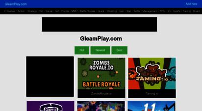 gleamplay.com - gleamplay.com - free web games