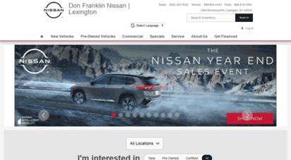 Nissan Dealership Lexington Ky >> Welcome To Glennnissan Com Nissan Dealership In Lexington