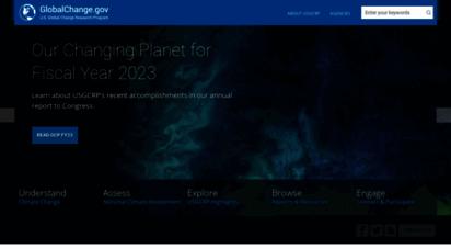 globalchange.gov - united states global change research program