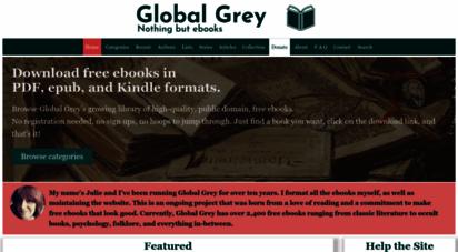 globalgreyebooks.com - global grey ebooks: download free ebooks for your library