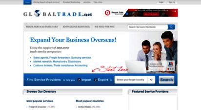 globaltrade.net - globaltrade.net  the directory for international trade services