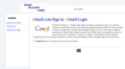 Gmailcom Login Mail M Gmail Email login Home FacebookGmail