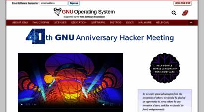 gnu.org