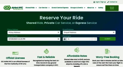 goairlinkshuttle.com - new york airport shuttle  go airlink nyc