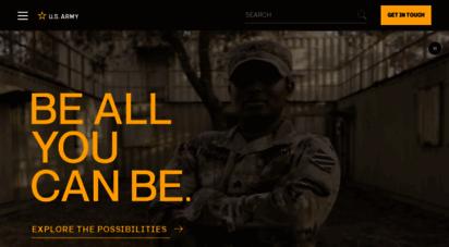 goarmy.com - u.s. army: what´s your warrior?  goarmy.com
