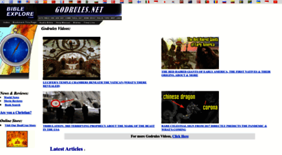 godrules.net - god rules.net - bible study tools, bible commentary library & more