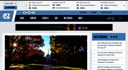 goheels.com - university of north carolina athletics - official athletics website