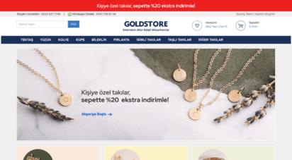 goldstore.com.tr - goldstore - altın, pırlanta, tektaş yüzük, isimli kolye, küpe, bileklik