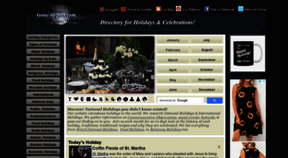 gone-ta-pott.com - directory for holiday observances and celebrations!