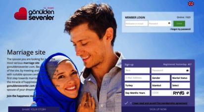 gonuldensevenler.com - evlilik sitesi  islami evlilik sitesi  gönülden sevenler