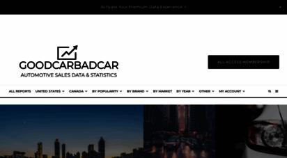 goodcarbadcar.net - auto sales data  canada & the usa  goodcarbadcar.net