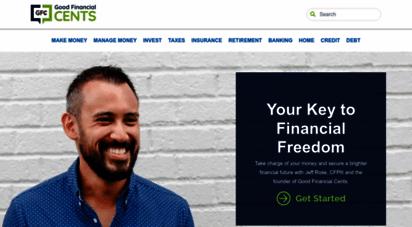 goodfinancialcents.com - good financial cents® official site - goodfinancialcents.com