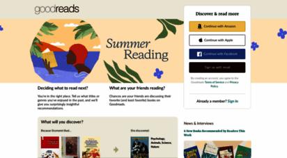 goodreads.com - goodreads  meet your next favorite book