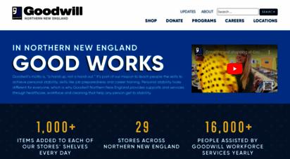 goodwillnne.org - goodwill industries of nne
