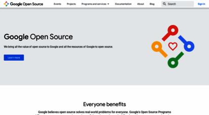 googlesource.com - google open source - opensource.google