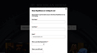 gophouse.org - home  michigan house republicans
