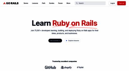 gorails.com - learn ruby on rails  gorails