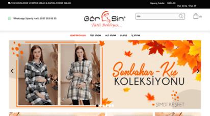 gorsin.com - gör&sin hamile giyim - en şık hamile kıyafetleri