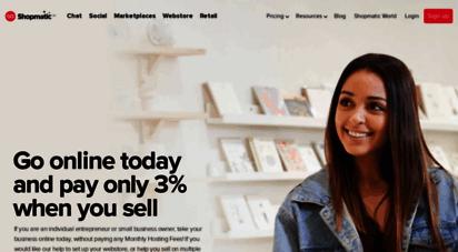 goshopmatic.com - shopmatic go  create a free online store on the mobile