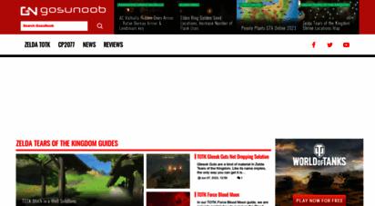 gosunoob.com - gosunoob.com video game news & guides - visual guides for gamers