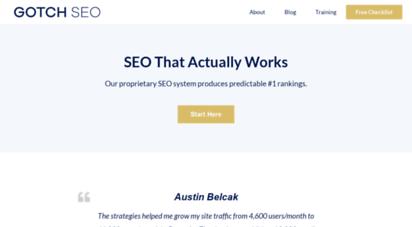 gotchseo.com - free seo training by gotch seo