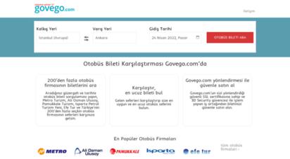govego.com - online otobüs bileti  govego.com