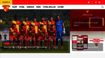goztepe.org.tr - göztepe spor kulübü resmi web sitesi