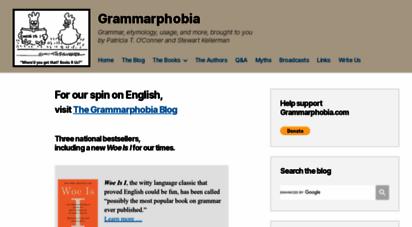 grammarphobia.com -
