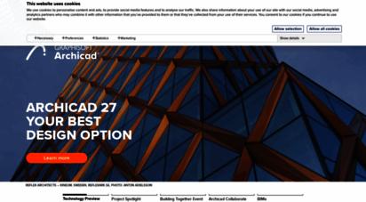 graphisoft.com - bim & cad software for architects, interior designers & urban planners
