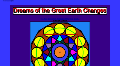 greatdreams.com - dreams of the great earth changes