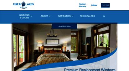 greatlakeswindow.com - great lakes window®