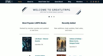 greatlitrpg.com - greatlitrpg.com
