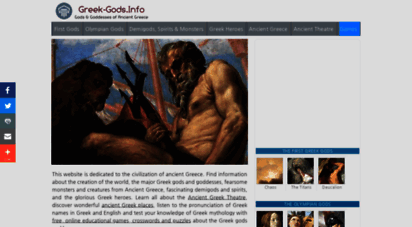greek-gods.info - greek-gods.info- greek gods and goddesses of ancient greece