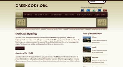 similar web sites like greek-gods.org