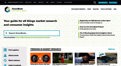 greenbook.org - greenbook: find market research companies and focus group facilities