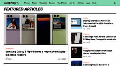greenbot.com - greenbot - android news, tips, and reviews