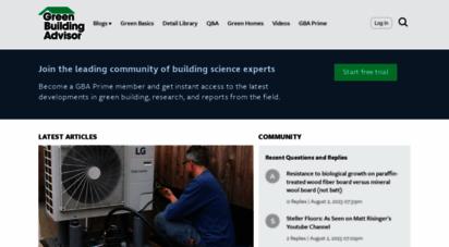 greenbuildingadvisor.com -