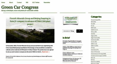 greencarcongress.com - green car congress