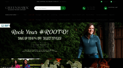 Welcome to Greenhawk com - Greenhawk Equestrian Sport
