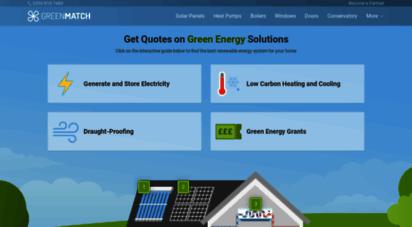 greenmatch.co.uk - greenmatch.co.uk - match quotes & suppliers  greenmatch