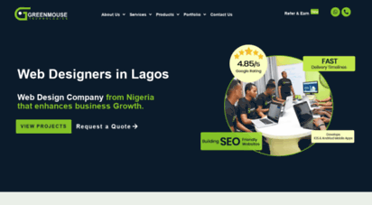 Welcome To Greenmousetech Com Web Designers In Lagos Web Design Companies In Lagos Nigeria